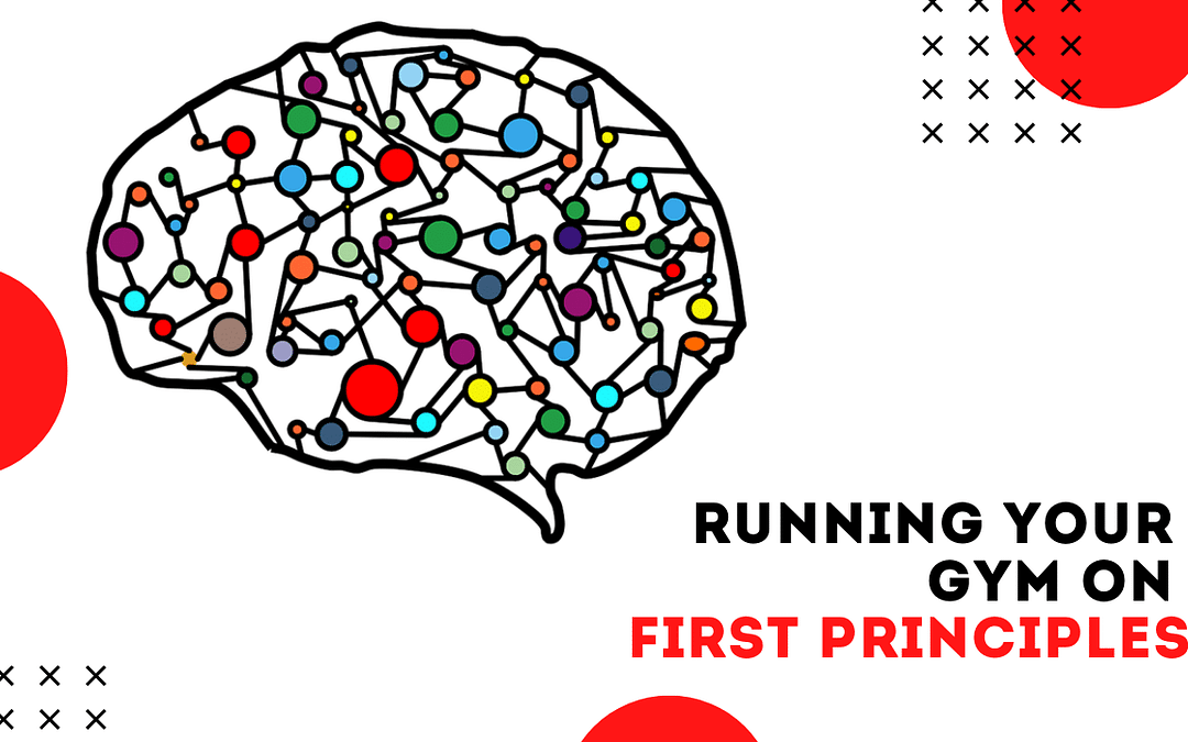 Running A Gym on First Principles