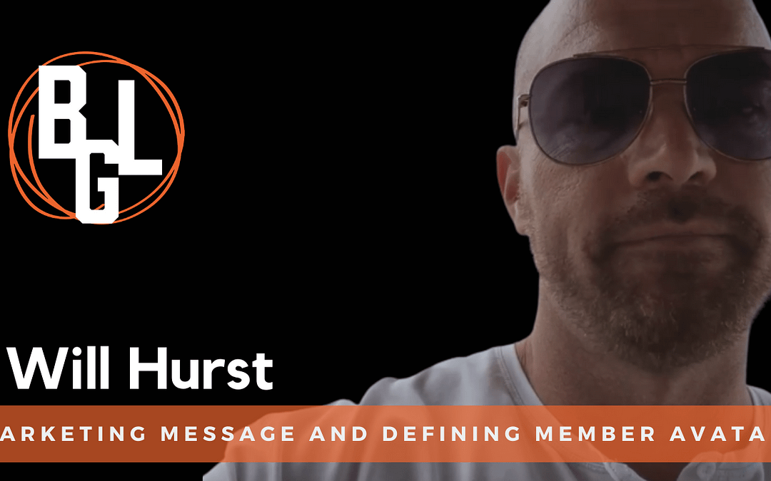 Marketing Message and Defining Member Avatar