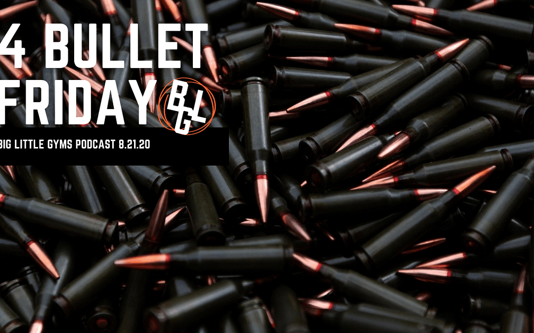 4 Bullet Friday – 4 Offers That Work Right Now in August 2020